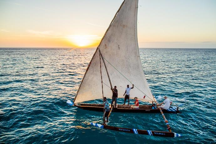 Fishing at Manta Resort in Zanzibar