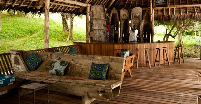 Bar at Manta Resort in Zanzibar