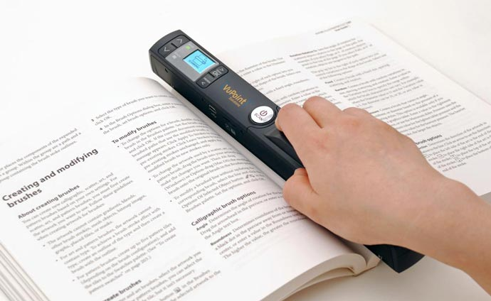 Magic Wand II 2 WI-FI PORTABLE SCANNER 1