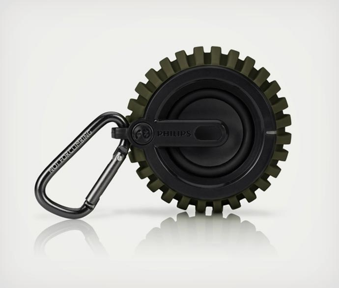 Grenade shaped speaker by Philips