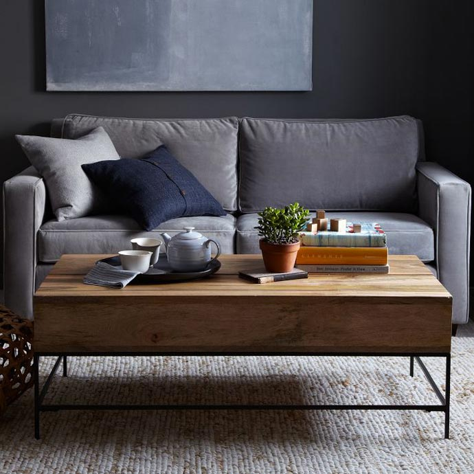 Rustic Coffee Table West Elm