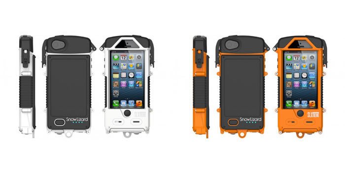 SNOW LIZARD SLXTREME WATERPROOF SOLAR CHARGING IPHONE CASE 2