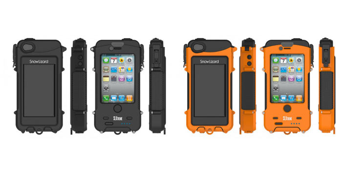 SNOW LIZARD SLXTREME WATERPROOF SOLAR CHARGING IPHONE CASE 3