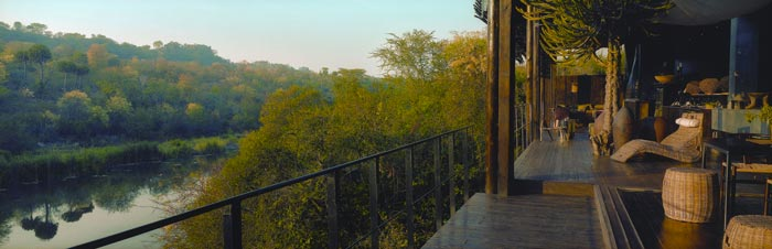 Scenery from Singita Sweni Lodge in South Africa