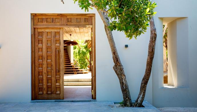Architecture at Vamizi Island