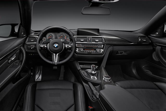 Interior of the 2015 BMW M1