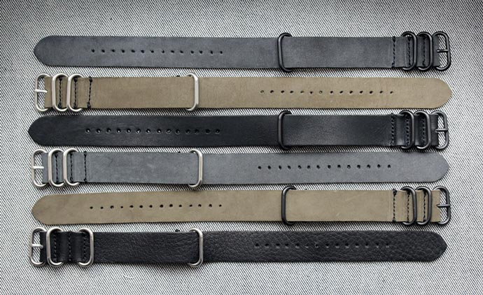 Horween Leather NYC NATO Watch Strap 7