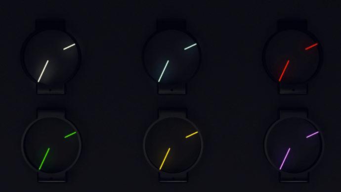 Glow in the Dark Minimalist Analog Watch 3