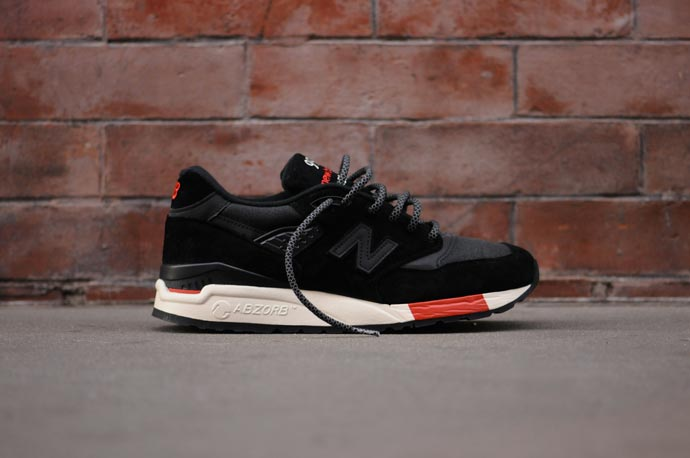 New Balance 998 Black/Red Re-Issue 4