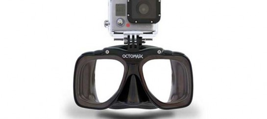 OCTOMASK | SCUBA MASK WITH GOPRO CAMERA MOUNT