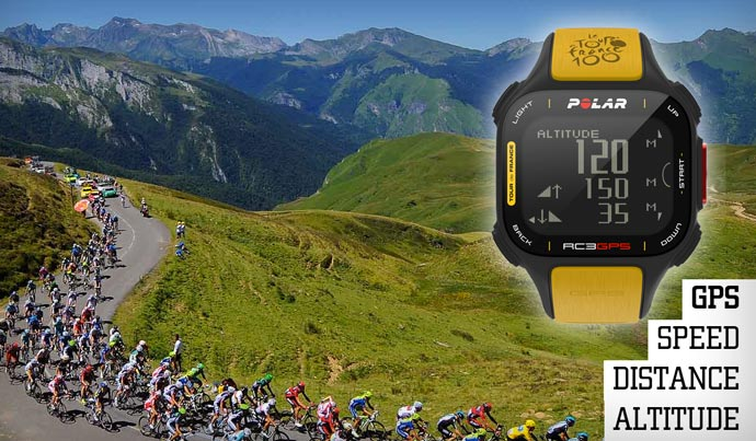 Polar RC3 GPS Tour De France 3