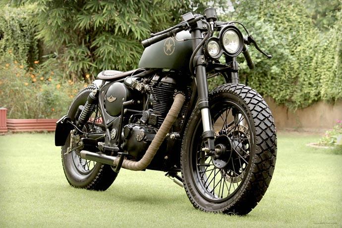 Royal Enfield 500cc Classic | BY Rajputana Custom Motorcycles 2