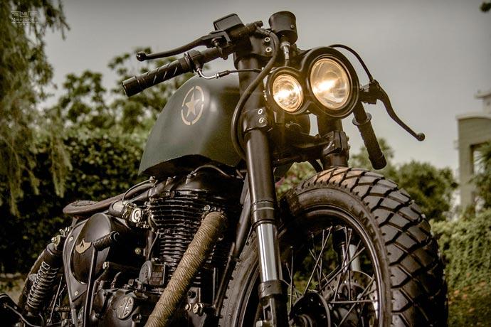 Royal Enfield 500cc Classic | BY Rajputana Custom Motorcycles 5