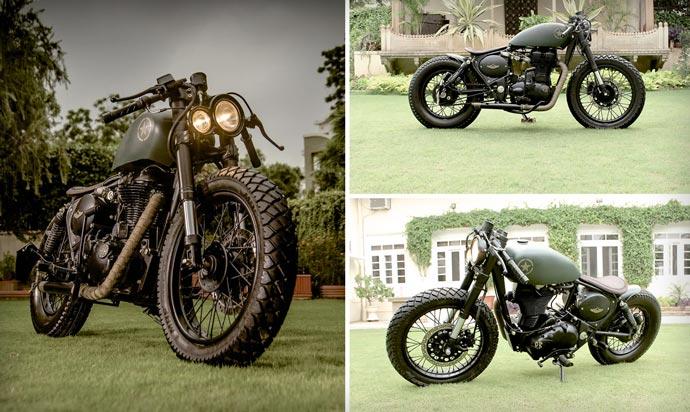 Royal Enfield 500cc Classic | BY Rajputana Custom Motorcycles 6