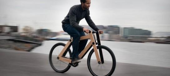 SANDWICHBIKE WOODEN BICYCLE