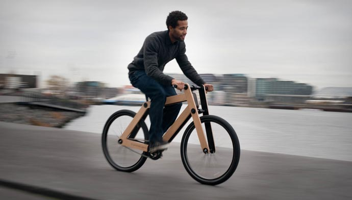 Sandwichbike Wooden Bicycle