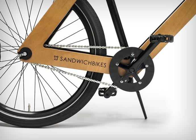 Sandwichbike Wooden Bicycle Chassis