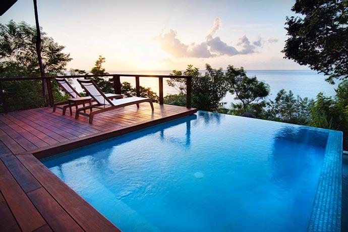 Secret Bay Resort swimming pool
