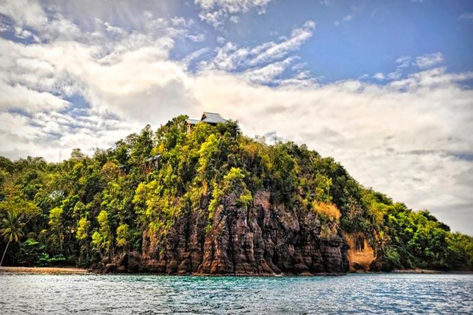 Secret Bay Resort in Dominica