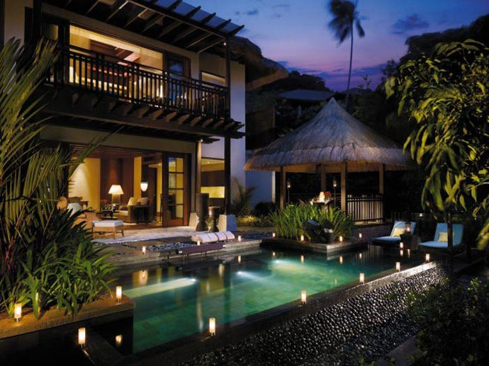 Outdoor pool at Shangri-La's Boracay Resort and Spa