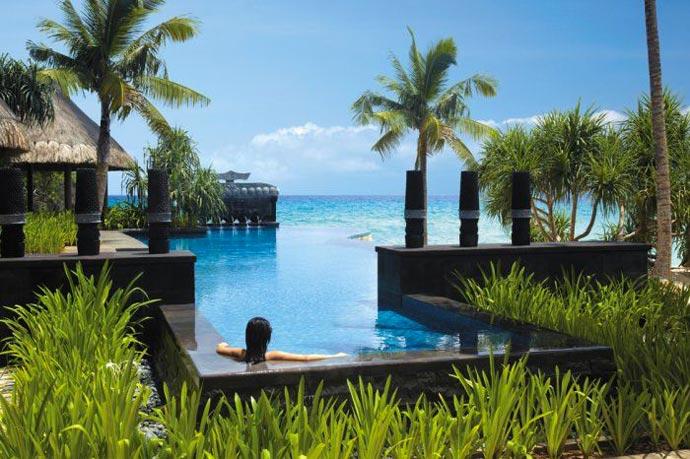 Outdoor pool at Boracay Resort and Spa