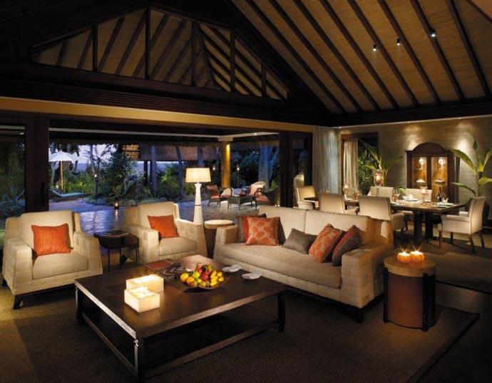 Interior design at Boracay Resort and Spa