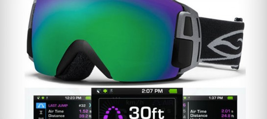 SMITH OPTICS I/O RECON GOGGLES