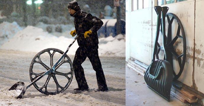 Snow Wolf | Wheeled Snow Shovel 1