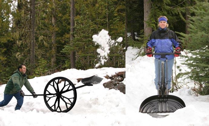 Snow Wolf | Wheeled Snow Shovel 5