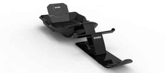 STEALTH-X SLED | BY SNOLO SLEDS
