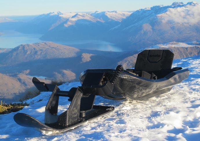 Carbon fiber sled