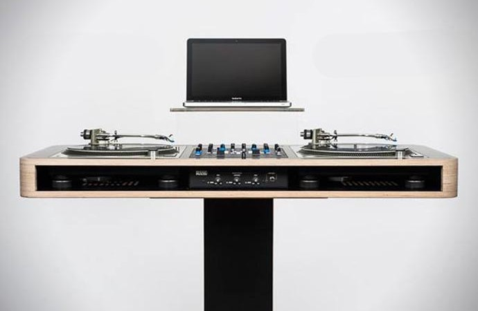 Stereo T DJ Table BY Hoerboard 6