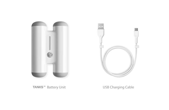 Tanks by Switcheasy | Portable Battery 3