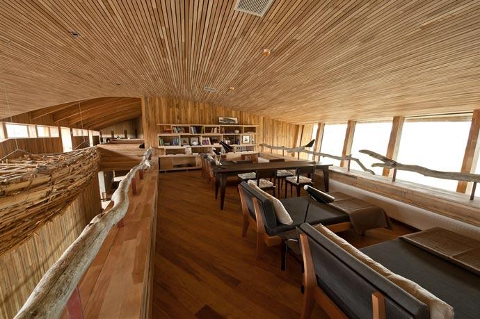 Lounge area at Tierra Atacama