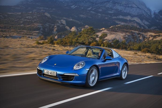 Porsche 911 Targa 4 and 4S
