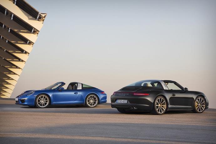 2015 Porsche 911 Targa 4 and 4S