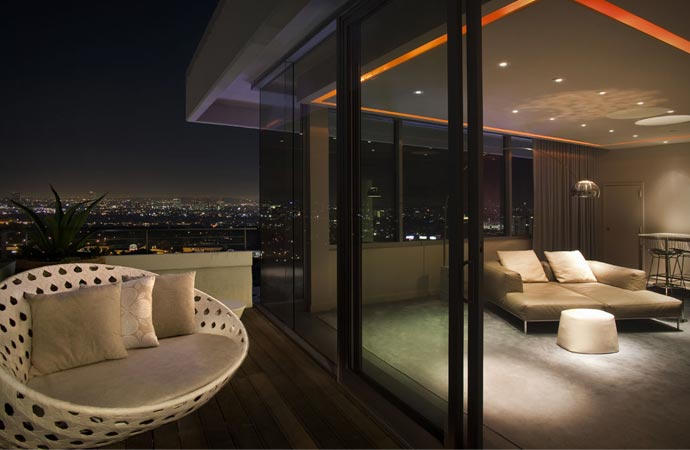 Luxury room at Andaz West Hollywood