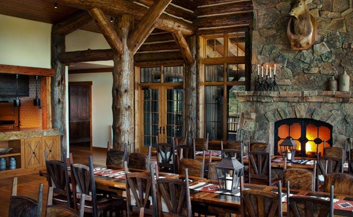 Brush Creek Lodge interior design