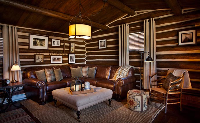 Brush Creek Lodge interior