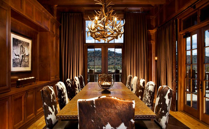 Brush Creek Lodge conference room
