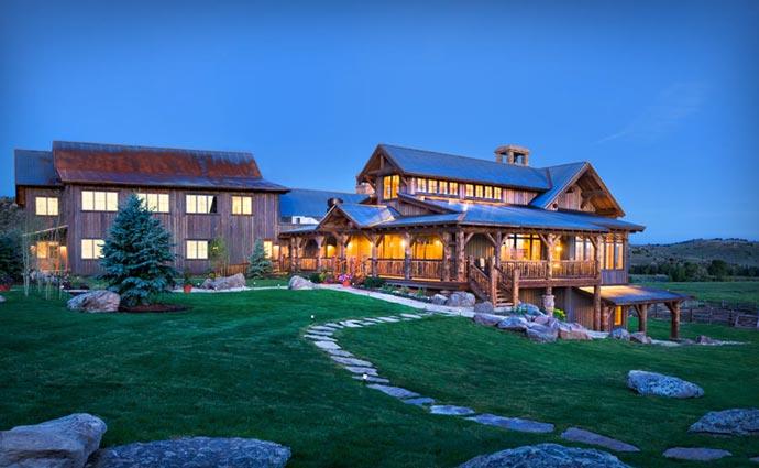 Brush Creek Lodge architecture