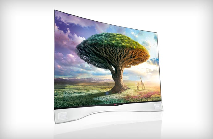 Curved OLED TV by LG