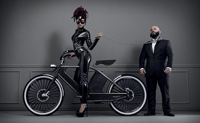 Black Cykno Electric Bike