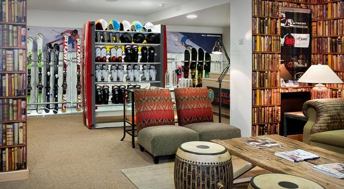 Ski shop at El Lodge Resort
