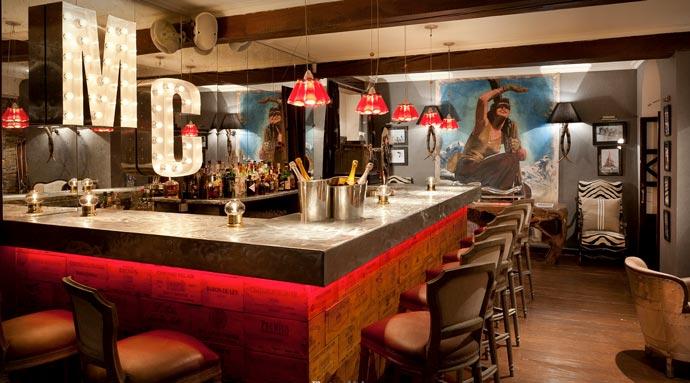 Bar at El Lodge Ski Resort