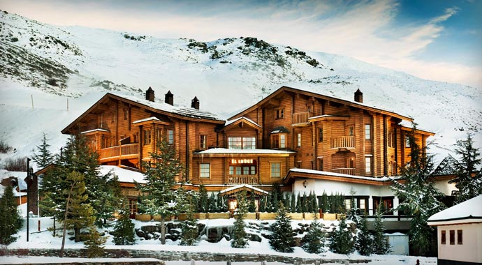 El lodge ski resort spain jebiga design lifestyle for Ski design hotel