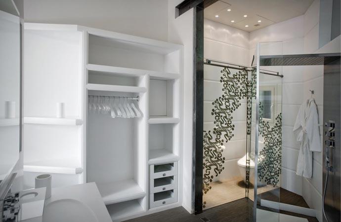Room design at El Palauet Living Hotel
