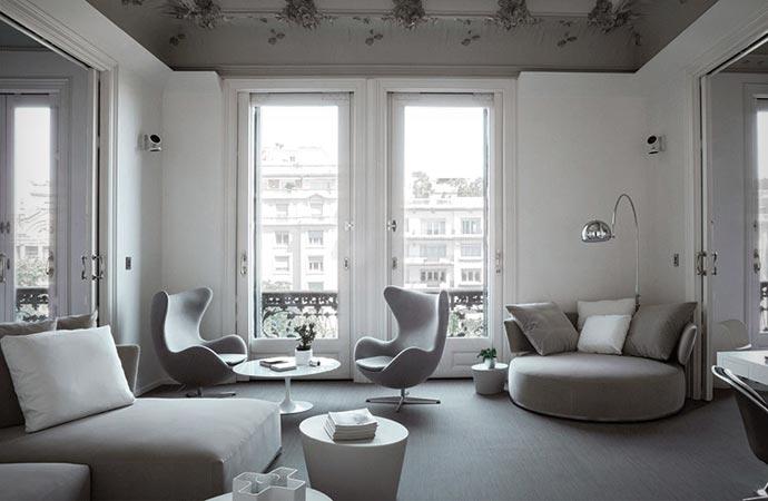 Room at El Palauet Living Hotel in Barcelona