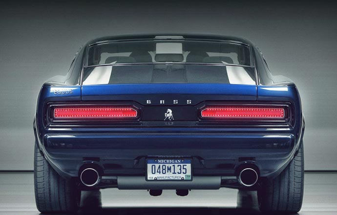 Blue Equus Bass 770