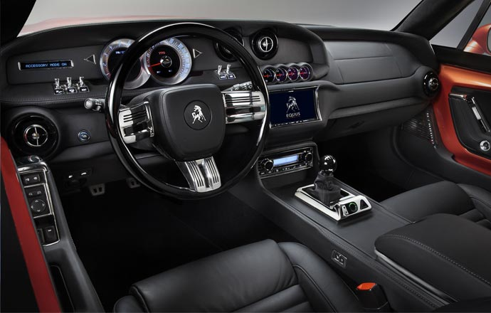 Interior of the Equus Bass 770